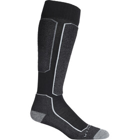 Icebreaker Ski+ Light OTC Socks Herre Black
